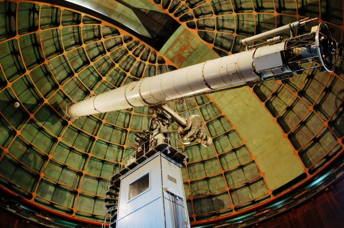 Lick Observatory and the best show in the Bay Area