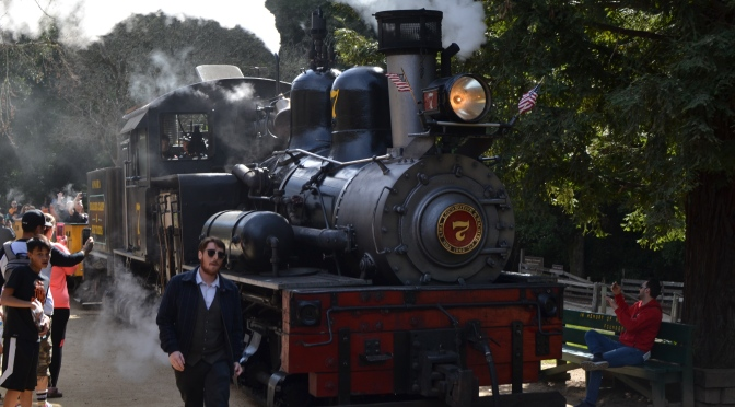 Weekend getaway: Roaring Camp railroad & big trees