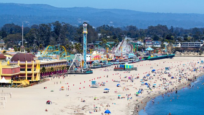 A getaway to Santa Cruz